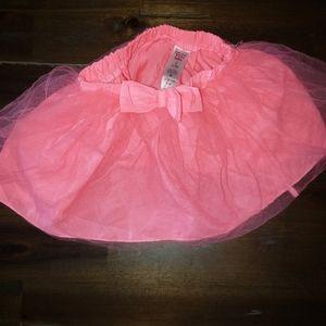 Girls Tutu Skirt Pink 12-18M